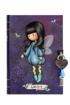 Santoro gorjuss Σημειωματάριο ημερολόγιο με κλειδί - Bubble fairy 815GJ04