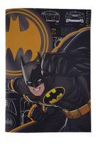 Τετράδιο καρφίτσα 17x25cm 50 φύλλων ριγέ Batman 18500