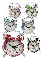 Mini ρολόι ξυπνητήρι διάφορα χρώματα Tesoro 0582129