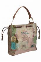 Τσάντα χειρός πουγκί Anekke Nature μπεζ 24771.5