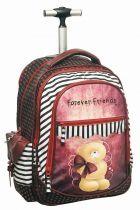 Σχολική τσάντα τρόλεϊ Forever Friends κόκκινο 33354074