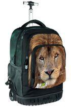Σχολική τσάντα τρόλεϊ must Animal Planet λιοντάρι 0570627