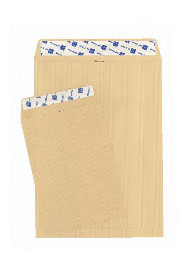 Φάκελος σακούλα κραφτ Γαλλίας αυτοκόλλητη 36,5 x 45 cm 100gr - 1 τμχ