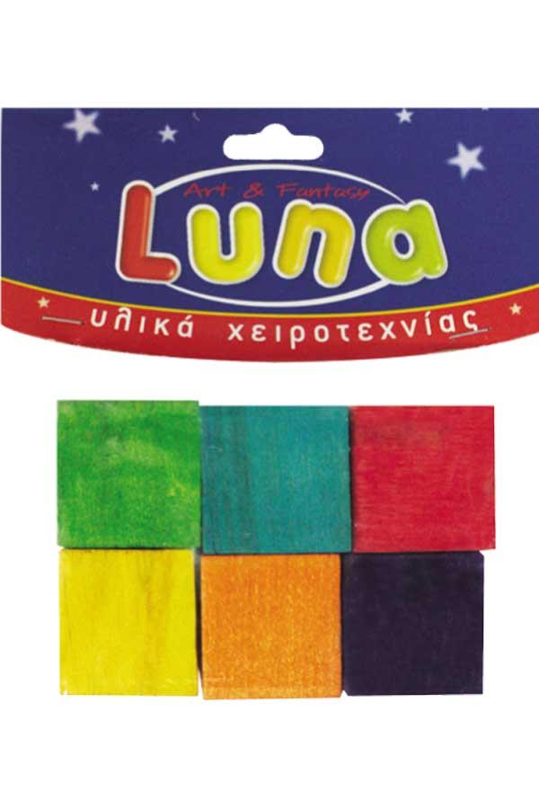 Κύβοι ξύλινοι Luna 0601677
