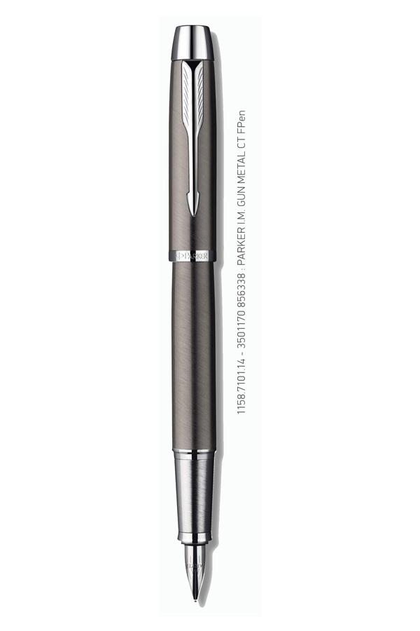 Πένα PARKER I.M. Standard Gun Metal CT FPen 1158.7101.14