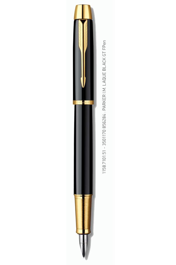 Πένα PARKER I.M. Standard Lacquer Black GT FPen 1158.7101.51