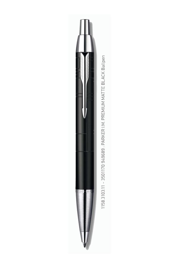 Στυλό PARKER I.M. Premium Matt Black Ballpen 1158.3103.11