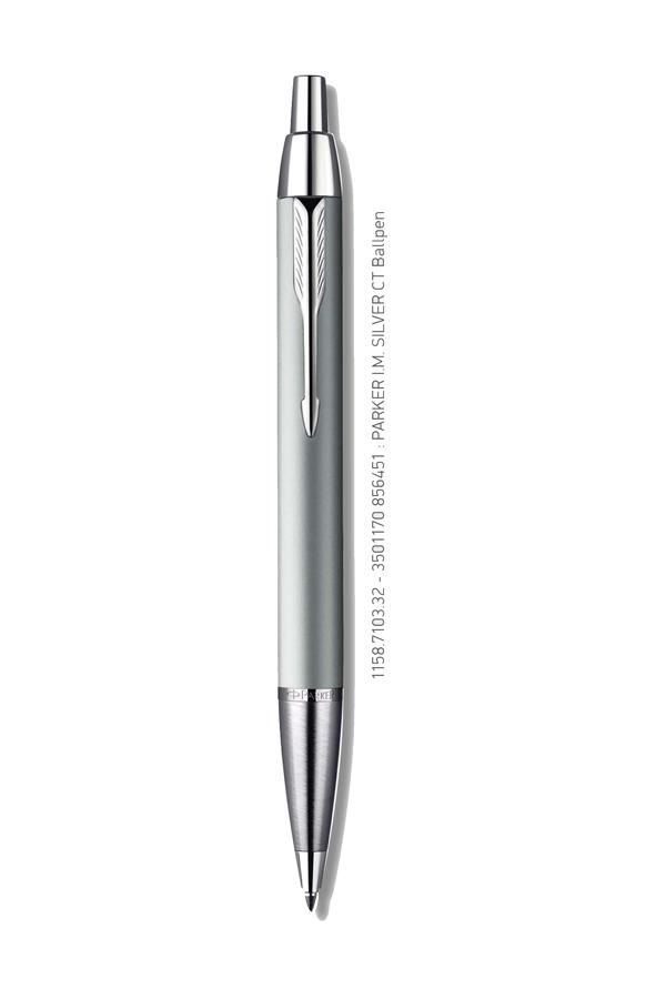 Στυλό PARKER I.M. Standard Silver CT Ballpen 1158.7103.32