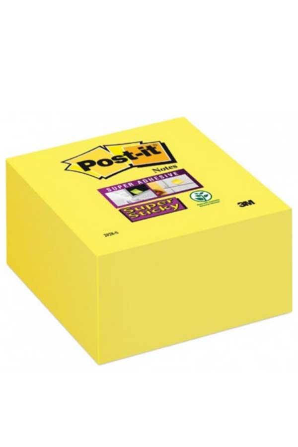 Αυτοκόλλητα χαρτάκια 76x76mm Post-it κίτρινα 350 φύλλα 2028-S