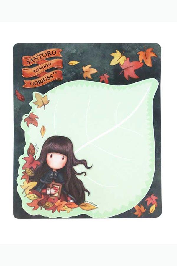 Santoro gorjuss Αυτοκόλλητα χαρτάκια σημειώσεων - Autumn leaves 909GJ04