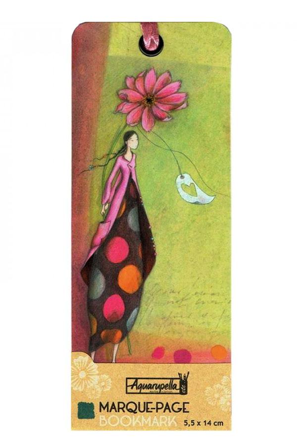 Σελιδοδείκτης χάρτινος Aquarupella Μεγάλο λουλούδι 14720