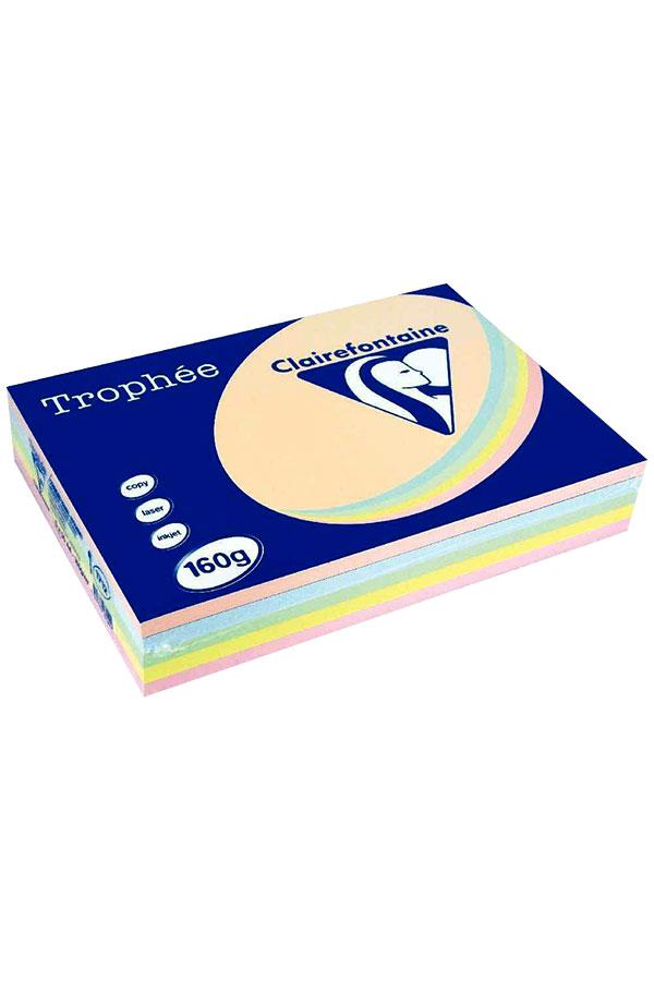 Χαρτί Α4 250 φύλλα 160gr pastel Trophee Clairefontaine 1712