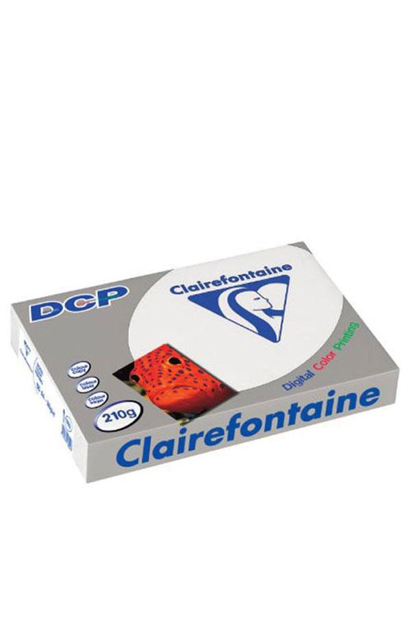 Χαρτί Α4 125 φύλλα 210gr λευκό Clairefontaine 1855