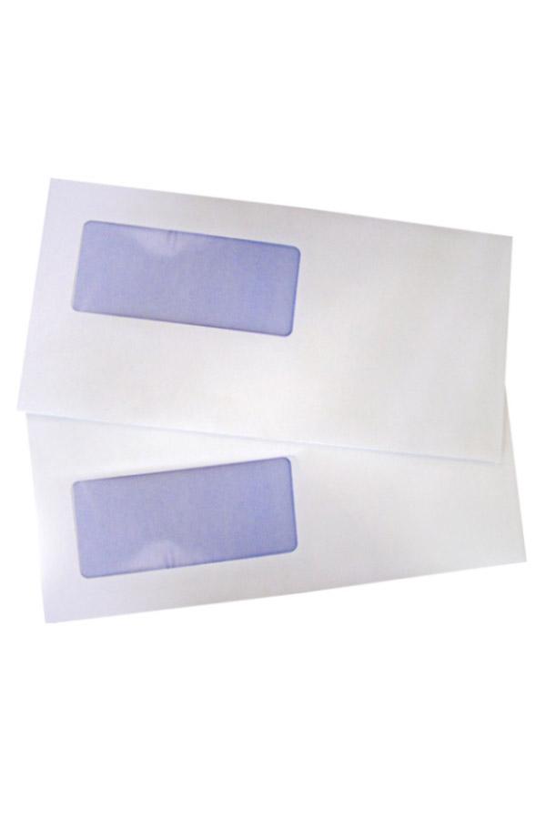 Φάκελος 19-90 αριστερό παράθυρο αυτοκόλλητος ασφαλείας 11,4 x 23 cm - κιβ. 500 τμχ