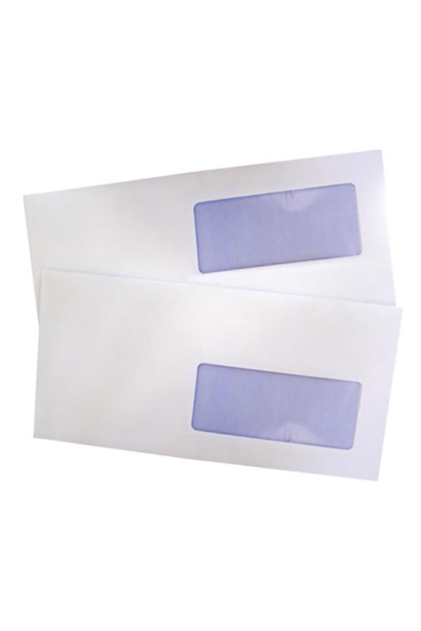 Φάκελος 19-90 δεξί παράθυρο αυτοκόλλητος ασφαλείας 11,4 x 23 cm - κιβ. 500 τμχ