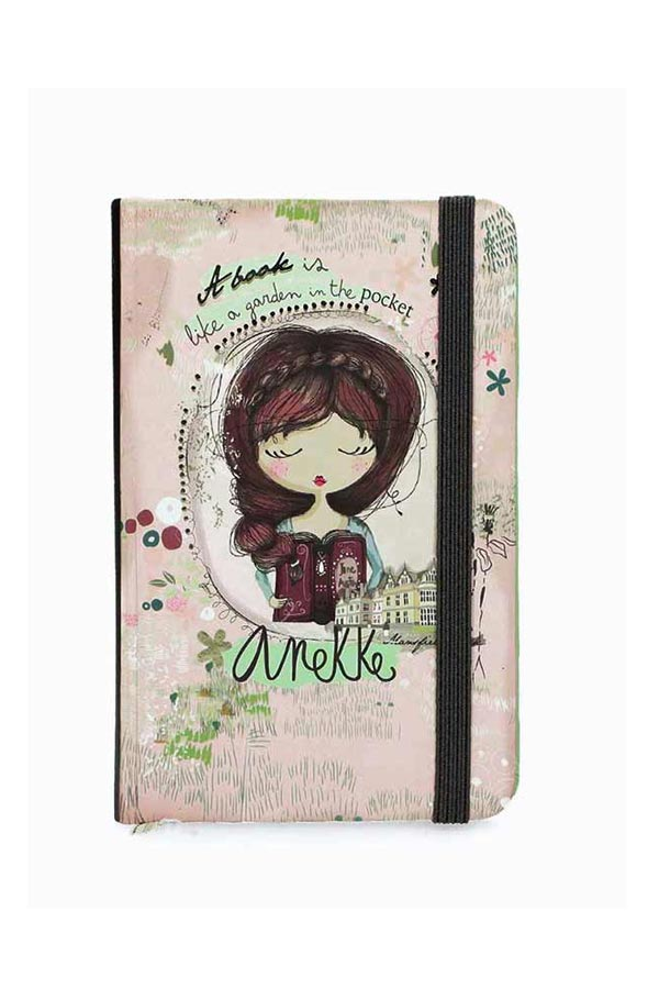 Anekke Jane Σημειωματάριο με λάστιχο 9x14cm 28860A1X1