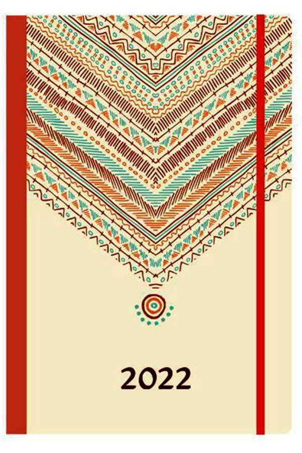 Ημερολόγιο 2022 ημερήσιο 14x21cm Trends flexi next 02039-07