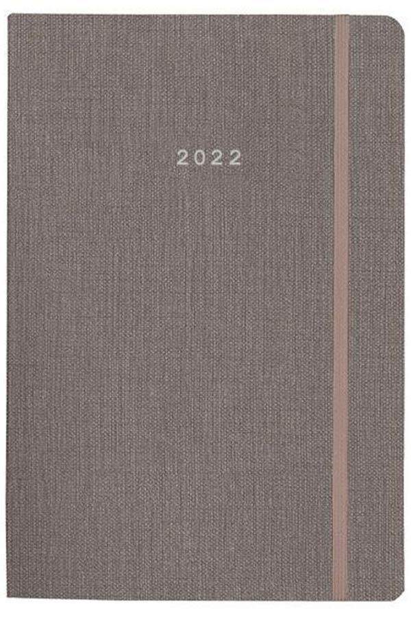 Ημερολόγιο 2022 ημερήσιο 17x24cm Nomad γκρι flexi next 02030-08