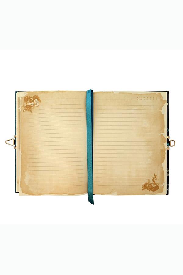 Santoro gorjuss Σημειωματάριο - ημερολόγιο με κλειδί 14x18,5cm Black Pearl 522GJ07