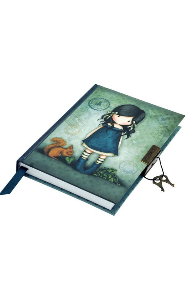 Σημειωματάριο ημερολόγιο Santoro gorjuss με κλειδί 13x18cm You brought me love 577GJ07