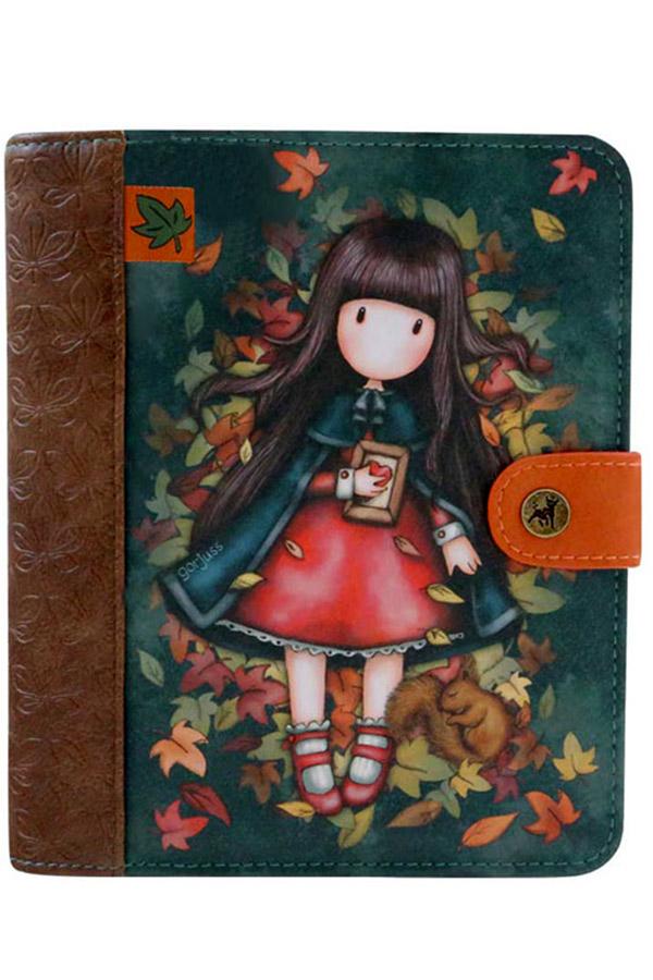 Santoro gorjuss Organizer δερματίνη - Autumn leaves 1036GJ01