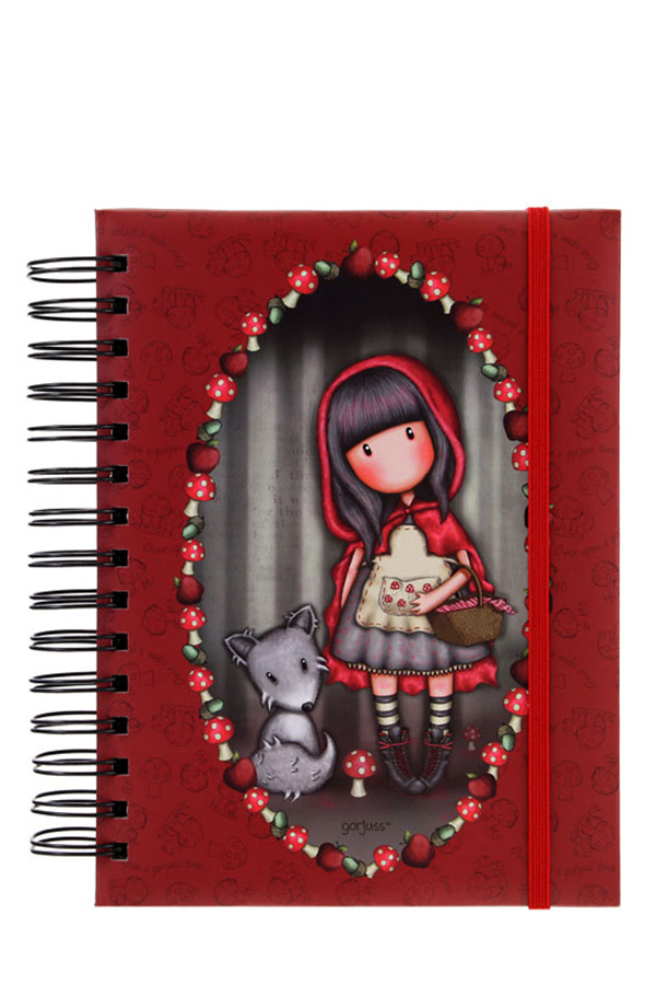 Santoro gorjuss Organizer - Little red riding hood 201GJ07