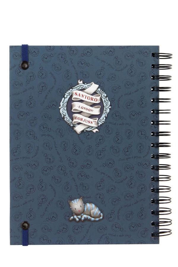 Santoro gorjuss Σημειωματάριο σπιράλ - The hatter 816GJ04