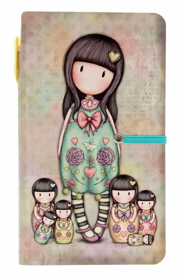 Σημειωματάριο με στυλό Santoro gorjuss - Seven sisters 596GJ05