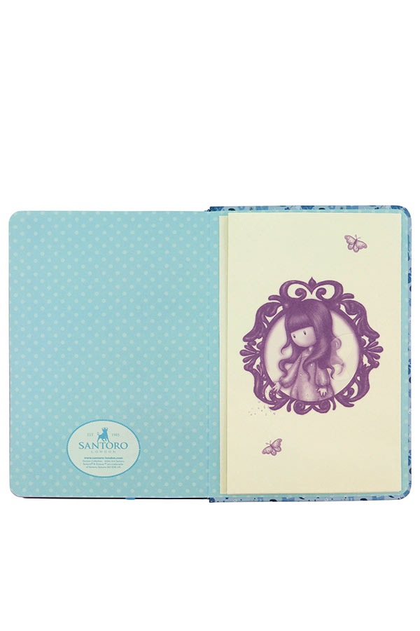 Σημειωματάριο με λάστιχο Santoro gorjuss Bubble fairy 230EC61
