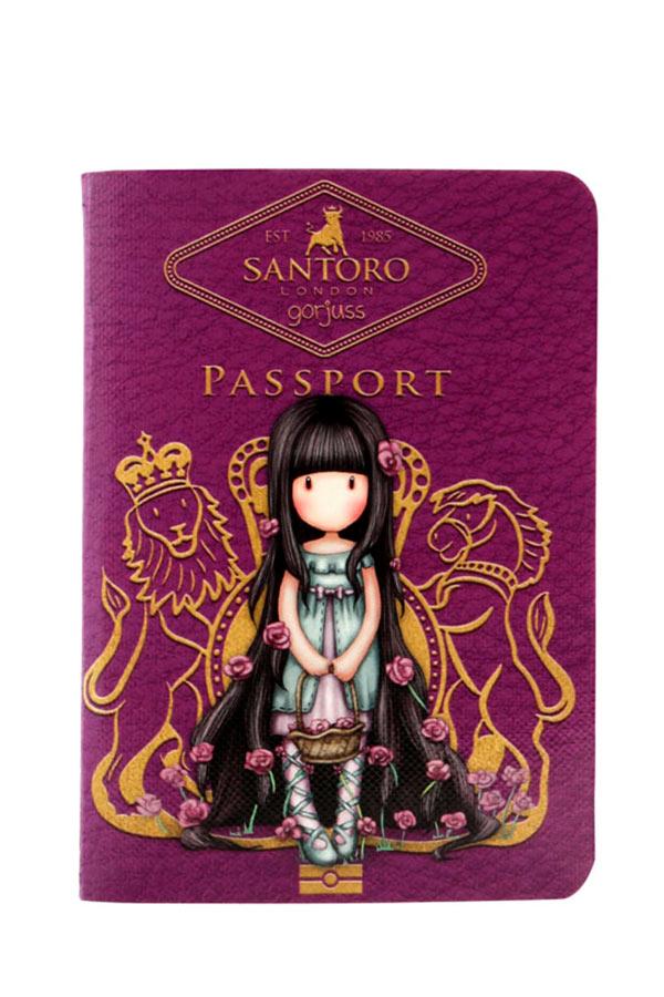 Santoro gorjuss Σημειωματάριο μικρό δεμένο PASSPORT Rosebud 814GJ01