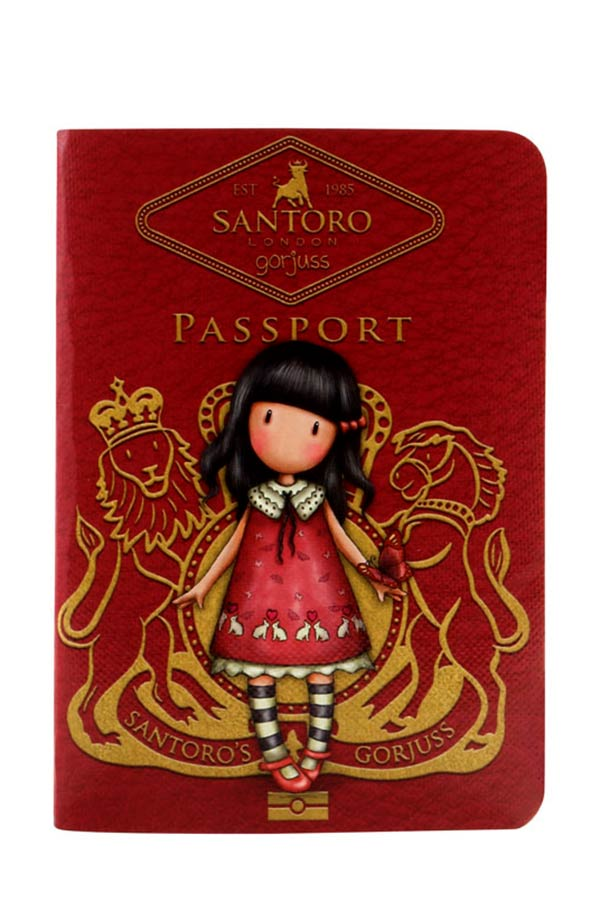 Santoro gorjuss Σημειωματάριο μικρό δεμένο PASSPORT Time to fly 814GJ02