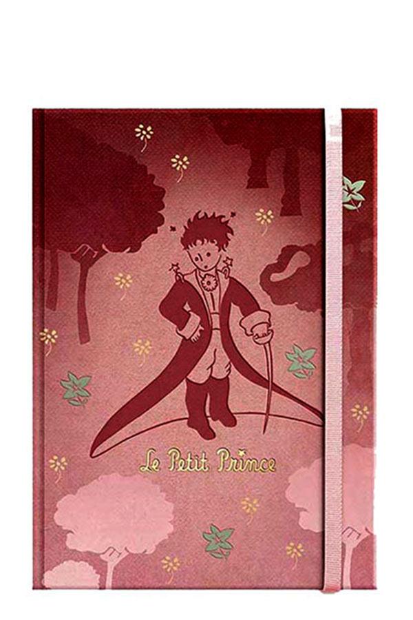 Σημειωματάριο με λάστιχο 10x14cm Μικρός Πρίγκιπας LPP-12-07