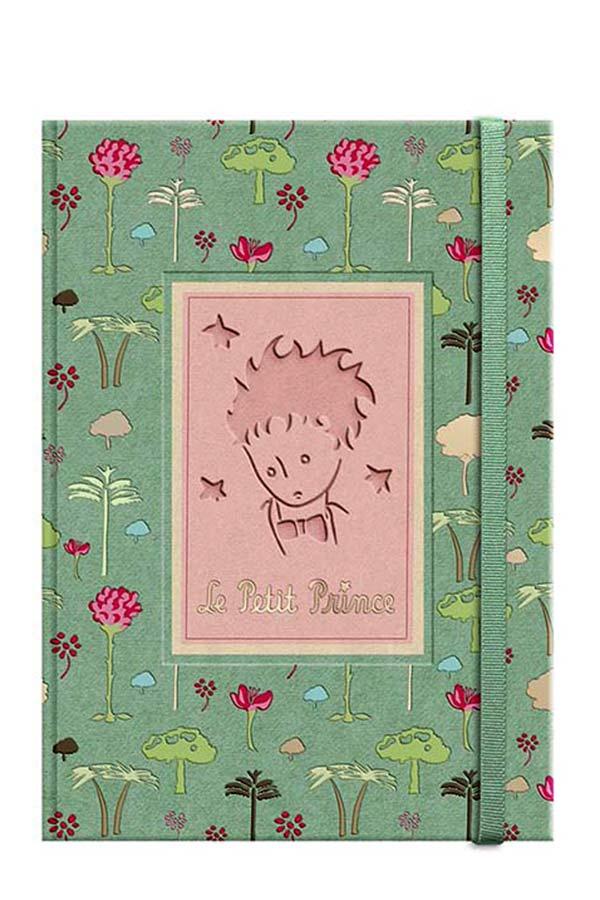 Σημειωματάριο με λάστιχο 12x17cm Μικρός Πρίγκιπας LPP-17-05