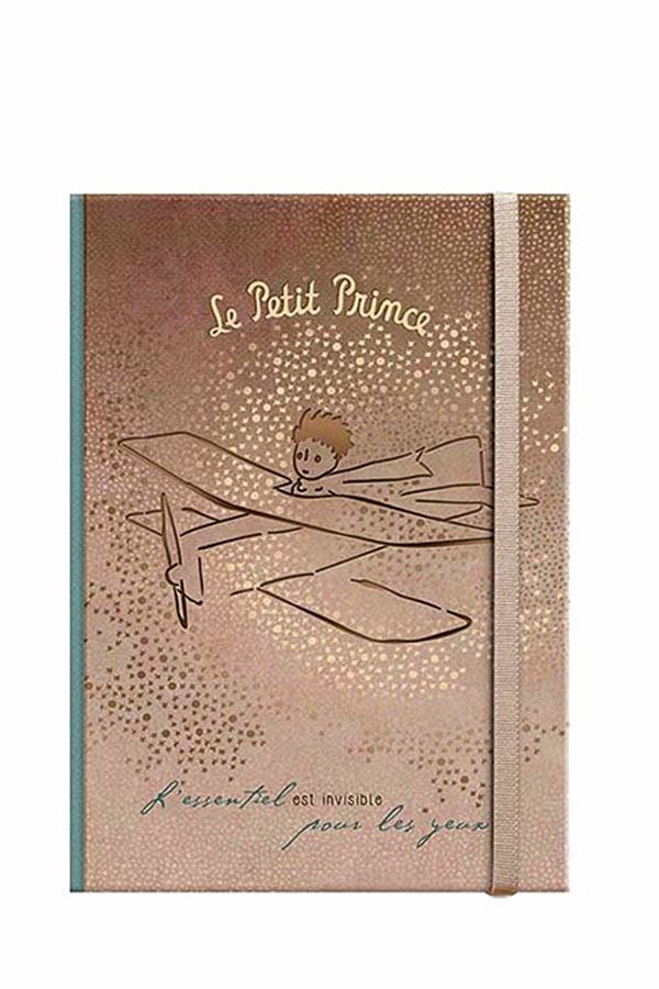 Σημειωματάριο με λάστιχο 10x14cm Μικρός Πρίγκιπας LPP-12-06