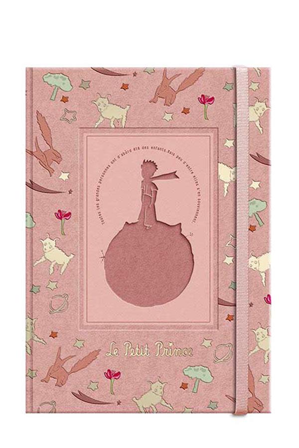 Σημειωματάριο με λάστιχο 12x17cm Μικρός Πρίγκιπας LPP-17-06