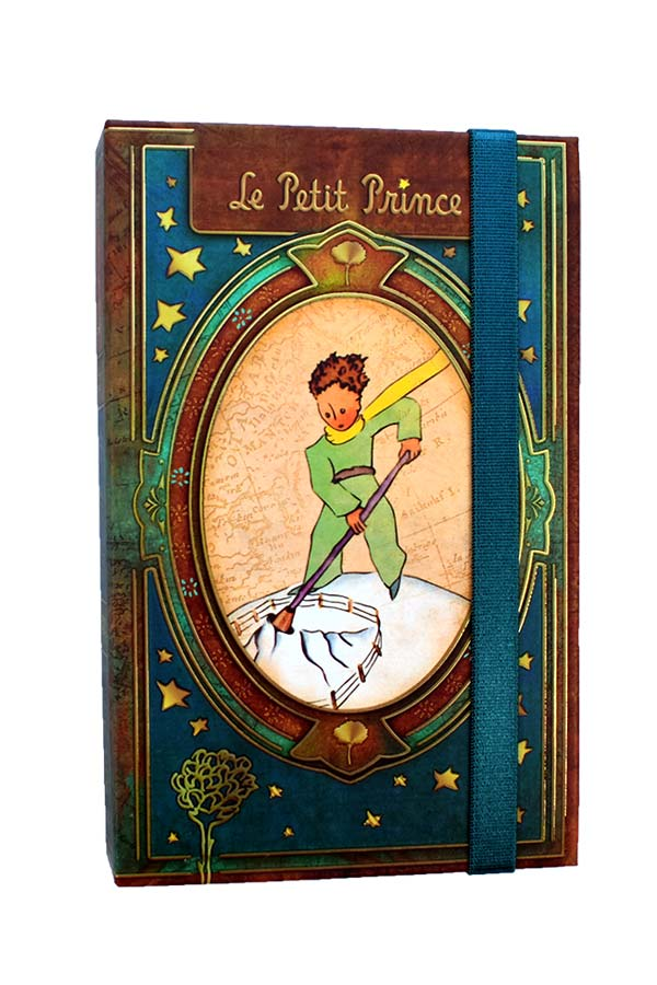 Σημειωματάριο με λάστιχο 10x17cm Μικρός Πρίγκιπας LPP-30-1