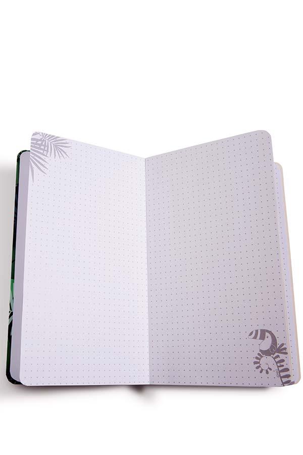 Σημειωματάριο με λάστιχο NICI TROPICANO Toucan 45422