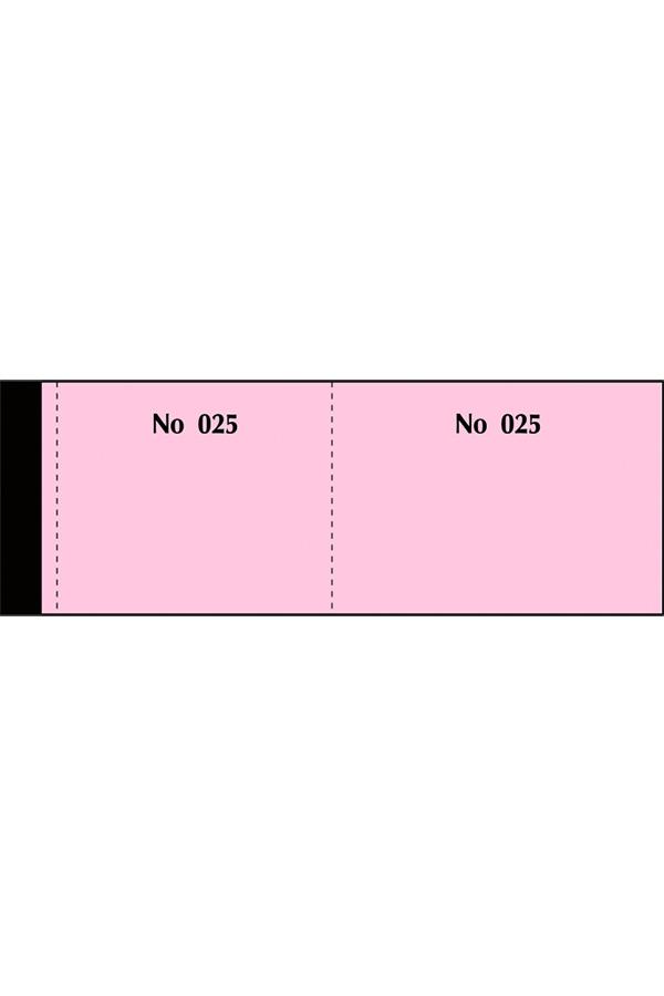 Μπλοκ ταμείου λαχνοί 1-100 με απόκομμα και αρίθμηση 155α