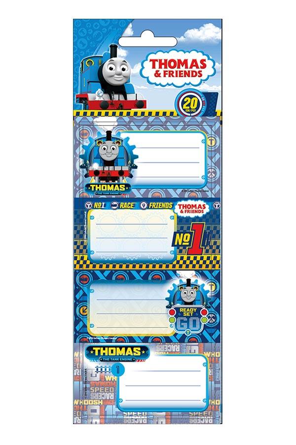 Ετικέτες σχολικές αυτοκόλλητες Thomas and friends 0570416