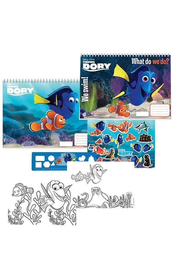 Μπλοκ ζωγραφικής Disney Finding Dory 561595