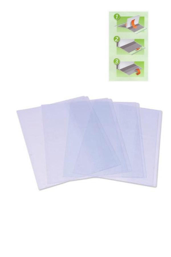 Περαστό κάλυμμα βιβλίων διάφανο 299mm μεταβλητού μεγέθους 10 φύλλων Groovy 0.26.069
