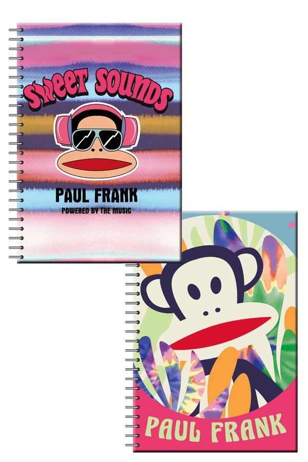 Τετράδιο σπιράλ 2 θέματα Α4 Paul Frank SWEET SOUNDS 1 τεμ. 346-72440