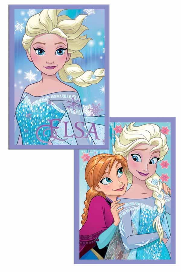 Τετράδιο καρφίτσα 17x25cm Frozen Elsa - Anna 0562039