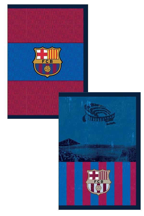Τετράδιο καρφίτσα 17x25cm FC Barcelona 0170660