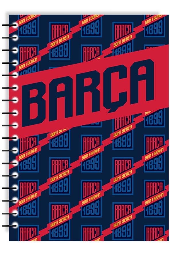 Τετράδιο σπιράλ 2 θέματα Α4 FC Barcelona BARCA  0170595