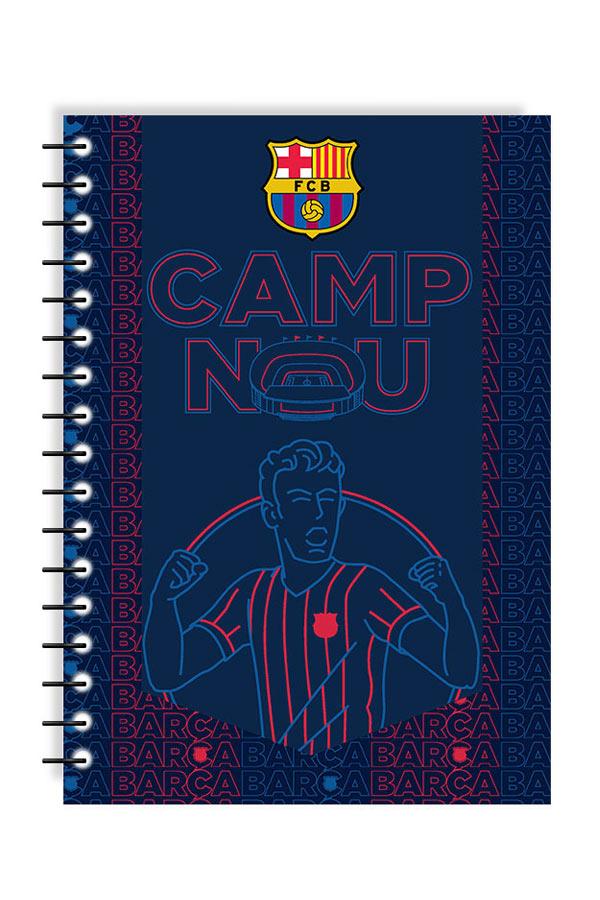 Τετράδιο σπιράλ 2 θέματα 17x25 FC Barcelona CAMP NOU 0170692