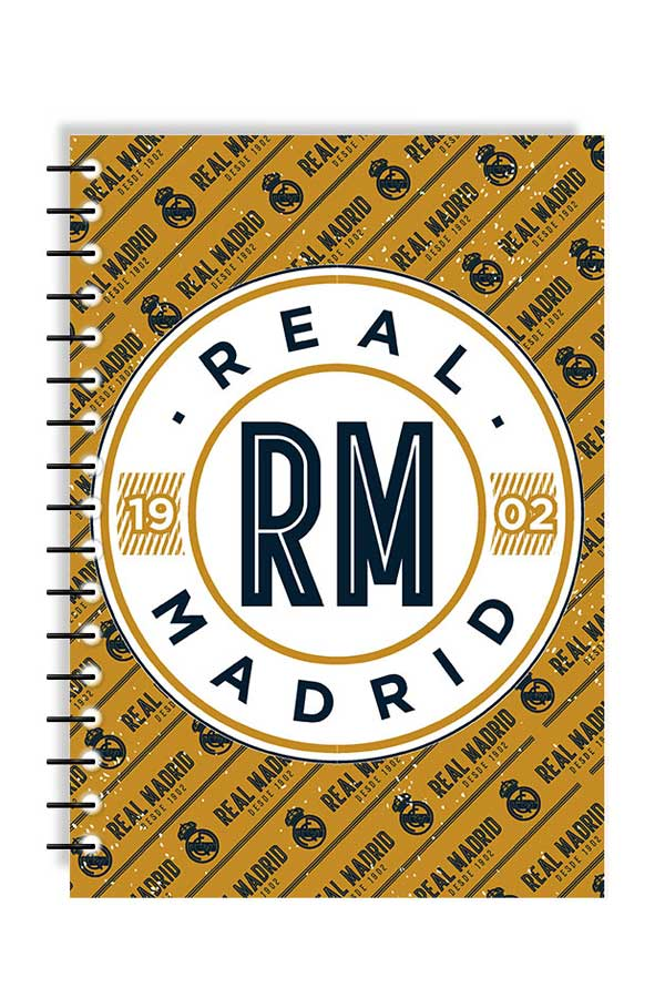 Τετράδιο σπιράλ 2 θέματα 17x25 Real Madrid 0170593