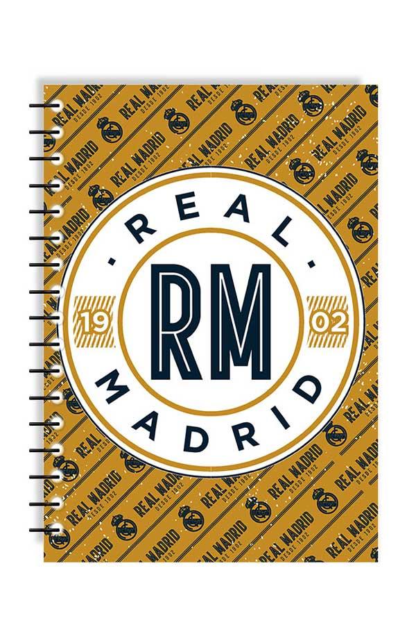 8efdb02bdb Τετράδιο σπιράλ 2 θέματα 17x25 Real Madrid 0170593 ...