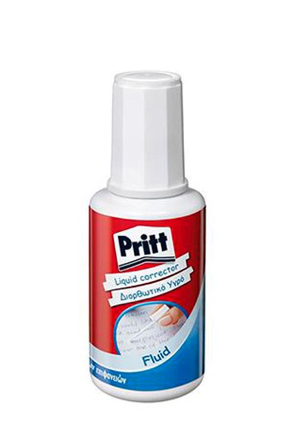 Διορθωτικό υγρό πινέλο 20ml Pritt