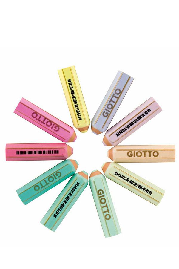 Γόμα μολύβι GIOTTO HAPPY GOMMA PASTEL 234000